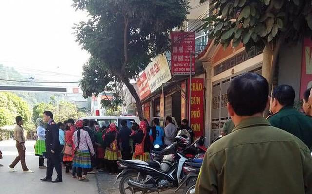 Căn nhà Chủ tịch thị trấn Bắc Yên - nơi xảy ra vụ thiếu nữ 16 tuổi treo cổ tự tử. Ảnh: CTV