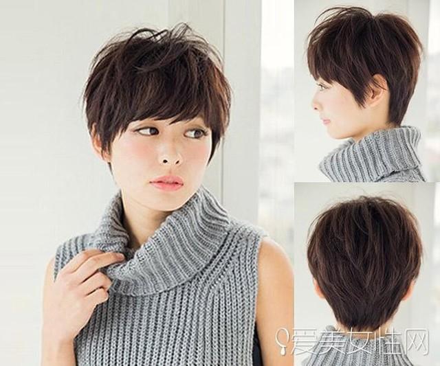 Nếu muốn làm tăng vẻ cá tính, hãy chọn kiểu tóc ngắn tém cao, mái xéo ngang này. Đây là xu hướng tóc được phụ nữ Nhật Bản ưa chuộng