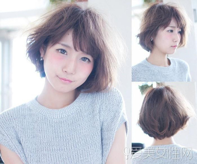 Kiểu tóc bob ngắn uốn cúp quen thuộc bỗng trở nên thu hút và khác lạ hơn nhờ cách đánh rối tự nhiên