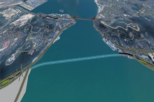Dự án hầm đường bộ xuyên vịnh Cửa Lục rút ngắn thời gian di chuyển từ Bãi Cháy đến Hòn Gai