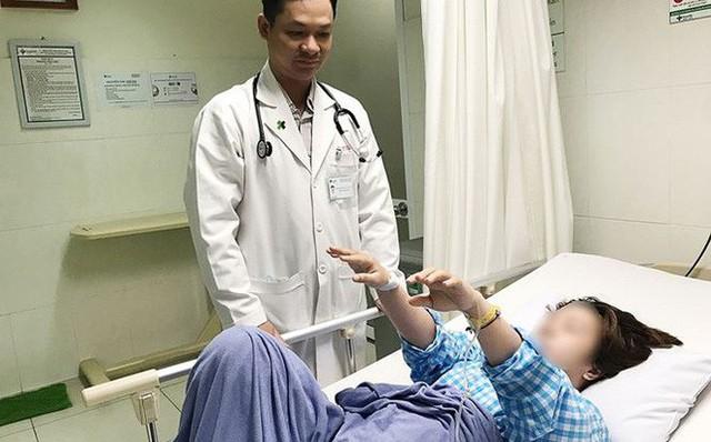 Nữ bệnh nhân 22 tuổi bị đột quỵ