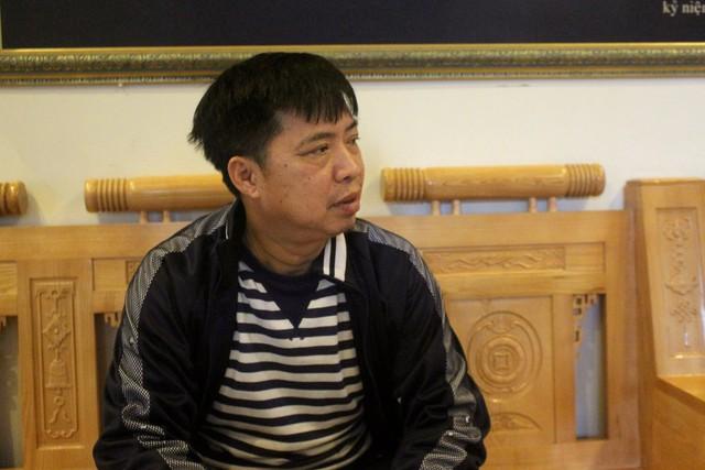 Ông Nguyễn Văn Tạo tin trận đấu tối nay đội Việt Nam giành chiến thắng với cách biệt 2 bàn. Ảnh: Đ.Tùy