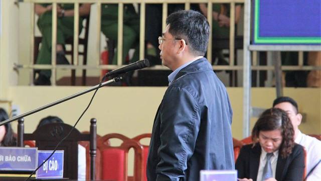 Nguyễn Văn Dương- người bị đề nghị tổng mức án cao nhất trong số 92 bị cáo. (ảnh: TG)