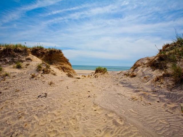 Bãi Sagg Main thuộc Sagaponack là một trong những bãi biển đẹp nhất vùng Hamptons.