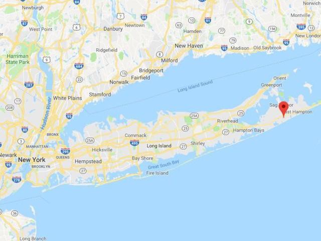 Sagaponack cách thành phố New York 2,5 giờ lái xe.