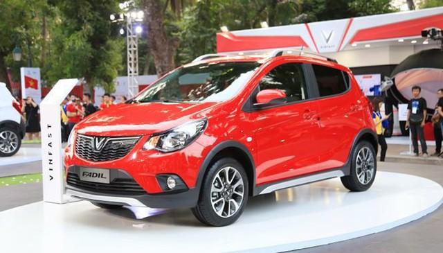 Mẫu xe nhỏ Vinfast Fadil có giá khởi điểm từ 336 triệu đồng.
