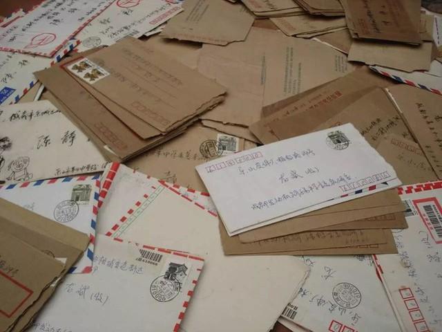 Những bức thư họ đã gửi cho nhau khi xa nhau.