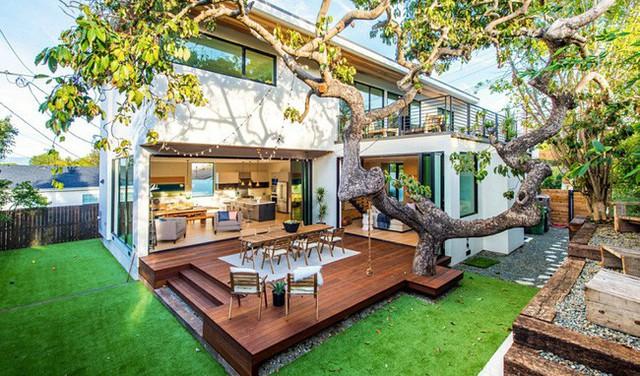 Ngôi nhà được thiết kế lại sau khi mở sân sau hiện lên đẹp như trong mơ của nhiều người.