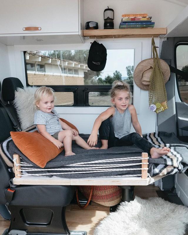 Sự tiện nghi đã được tính đến chi tiết để đảm bảo không gian nghỉ ngơi cho cả gia đình.