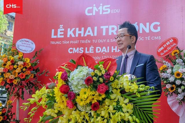 Trong tháng 11 và 12 năm 2018, CMS sẽ khai trương các cơ sở mới tại Hà Nội và TP.Hồ Chí Minh nhằm triển khai rộng rãi hơn nữa phương pháp gợi hỏi Socratic (Maieutic) tới cộng đồng và xã hội.