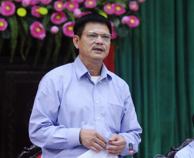 Ông Phùng Quang Thức (Chi cục trưởng Phòng chống tệ nạn xã hội Hà Nội) thông tin tại buổi họp giao ban báo chí Thành ủy Hà Nội ngày 27/11.