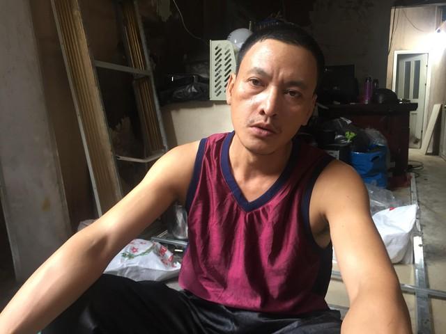 Anh Trần Thụ (Công ty Trần Vũ)- người có ngôi nhà 5 tầng bị cháy rụi vẫn chưa hết bàng hoàng.