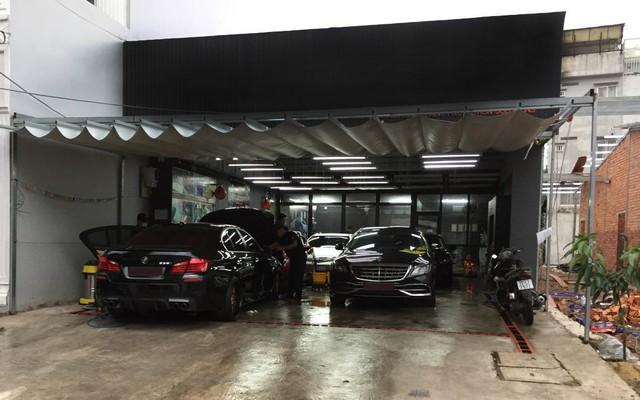 """Chi phí mặt bằng là một """"bài toán"""" khó đối với người muốn kinh doanh dịch vụ rửa xe"""
