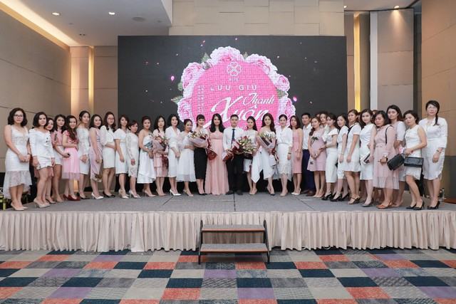 Phái nữ hùng hậu của công ty TNHH BEHE Việt Nam.