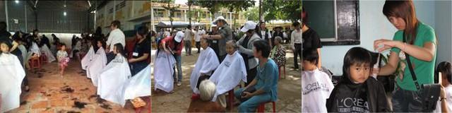 Chương trình Làm đẹp cộng đồng đã phục vụ cho hơn 10,000 người dân các khu vực vùng sâu trên cả nước