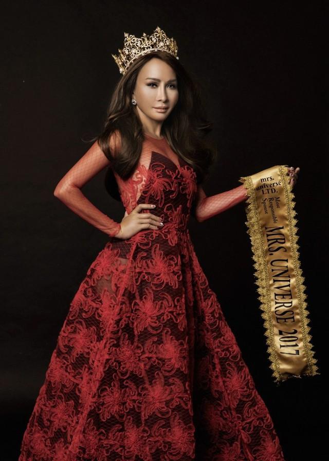 Hoa hậu Quý bà Hoàn vũ Lưu Hoàng Trâm