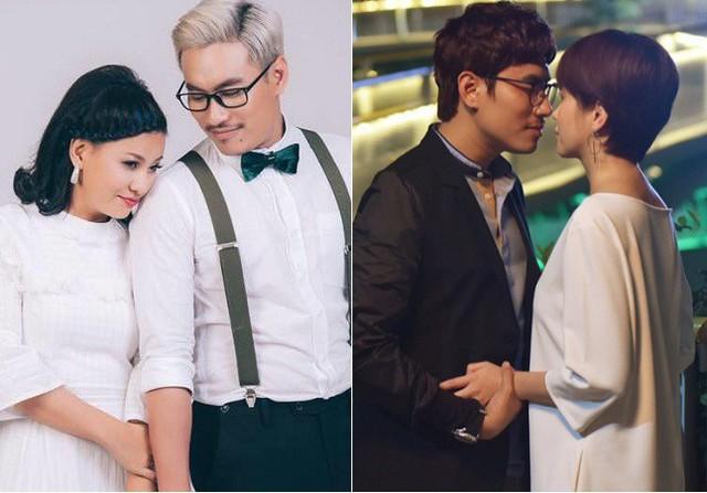 La doi chuyen tinh yeu trong showbiz Viet: Nguoi thi bi tay chay, ke noi cung chang ai tin