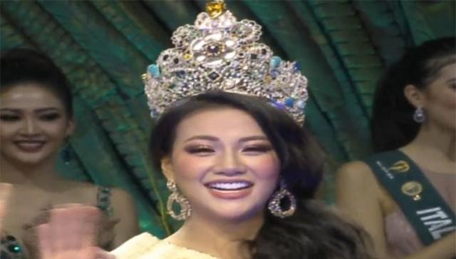 Phương Khánh được coi là thí sinh xứng đáng với vương miện Hoa hậu Trái đất năm 2018.
