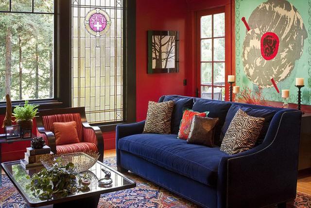 Đây là một gợi ý thú vị dành cho những căn phòng khách mang phong cách phương Đông.