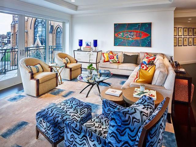 Khi bạn thích phong cách thanh lịch hiện đại nhưng vẫn muốn có điểm nhấn ấn tượng trong phòng thì những món phụ kiện rực rỡ này là điều không thể thiếu được.