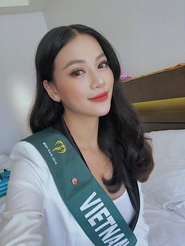 Nhan sắc của Phương Khánh khi tham dự Hoa hậu Trái đất đã khác biệt hoàn toàn