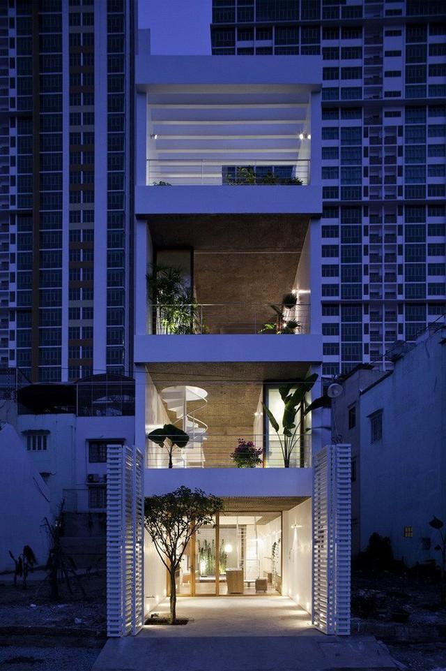 Ngôi nhà phố thật đẹp và cũng thật đặc biệt được xây dựng nên nhờ tâm huyết và tài năng của các KTS.