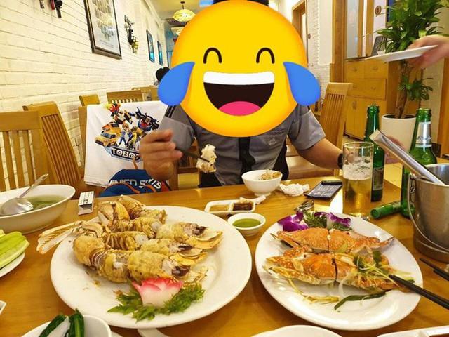 Sức ăn của vợ chồng chị T. cũng không đến nỗi, nhưng ăn xong thì đắng cả mồm (!)