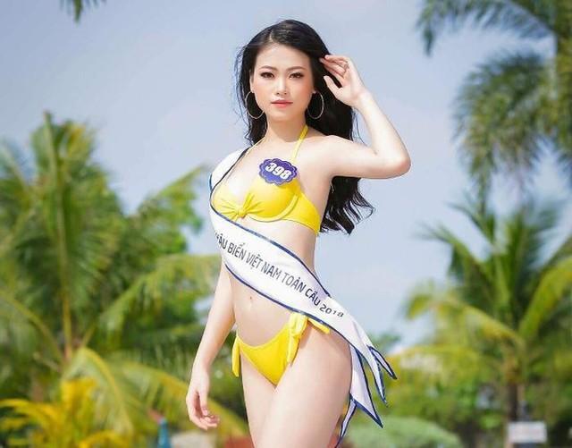 Phương Khánh bước ra từ một cuộc thi Hoa hậu Biển Việt Nam toàn cầu 2018