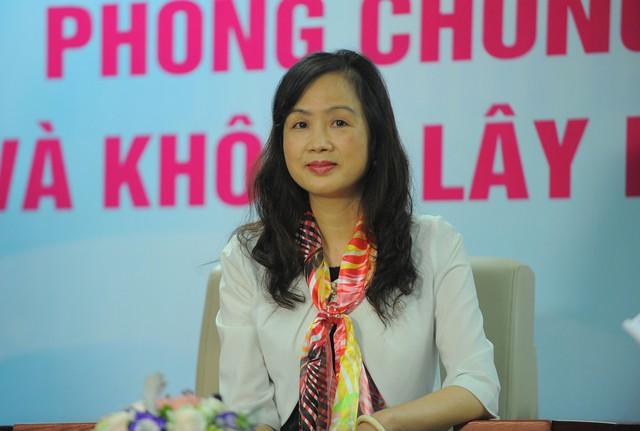 TS Chu Minh Hà – Trưởng Khoa Nội tổng hợp (Bệnh viện E) tại Tọa đàm. Ảnh: Chí Cường