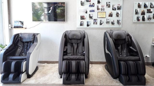 Ghế massage toàn thân hiện đại có khả năng trị liệu rất cao