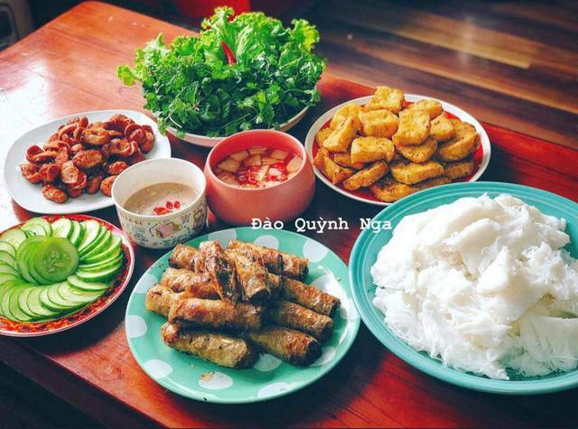 Nấu ăn là sở thích đặc biệt của Quỳnh Nga