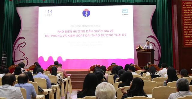 """Hội thảo """"Phổ biến hướng dẫn quốc gia về ĐTĐTK"""" được tổ chức tại Hà Nội, Đà Nẵng và TP.HCM"""