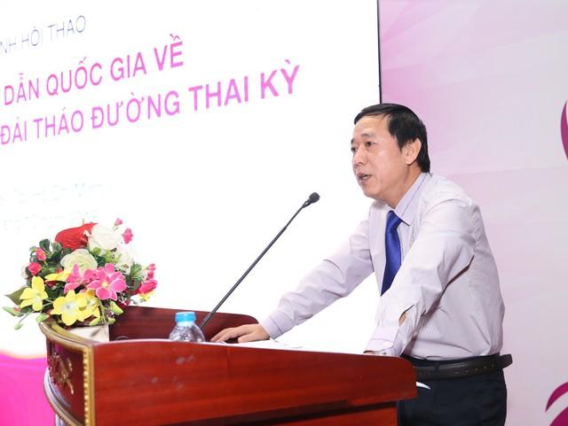 Ông Nguyễn Đức Vinh, Vụ trưởng Vụ Sức khỏe Bà mẹ và Trẻ em, Bộ Y tế phát biểu tại hội thảo