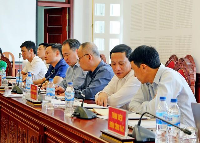 Đoàn công tác của Bộ Y tế do ông Võ Thành Đông- Phó Tổng Cục trưởng Tổng Cục Dân số (Bộ Y tế) làm Trưởng đoàn. Ảnh: Kim Oanh.