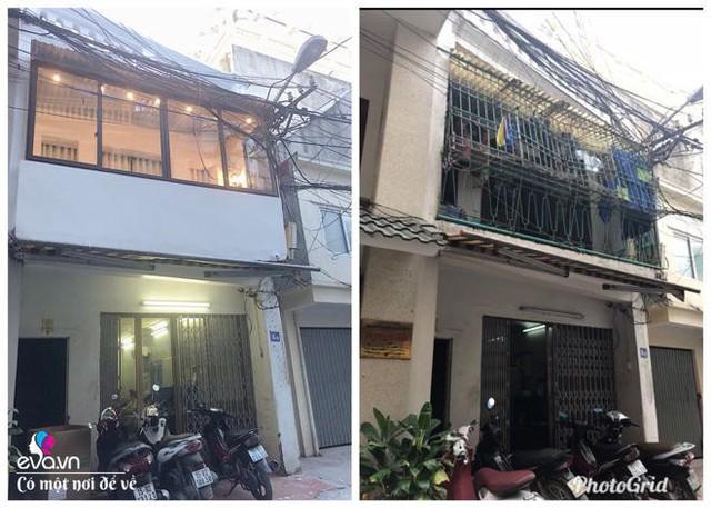 Ngôi nhà chị trên tầng 2 thay đổi hoàn toàn.