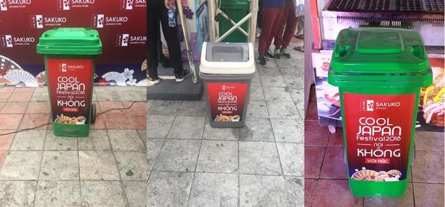 Những chiếc thùng rác với slogan vô cùng đặc biệt xuất hiện khắp mọi nơi.