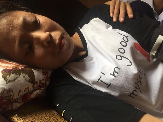 Chị Tuyền mắc bệnh suy thận nhiều năm nay