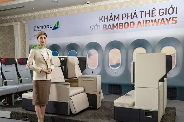 Bộ ghế Aura Enhanced thuộc tập đoàn Zodiac Aerospace đang được Bamboo Airways xem xét lựa chọn cho hạng ghế thương gia