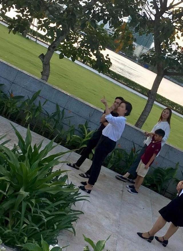 Cường Đô La, Đàm Thu Trang cùng với Subeo đi xem nhà giữa thời điểm cặp đôi lộ tin đồn cưới nhau vào tháng 5/2019.