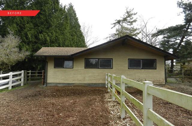 Chuồng ngựa cũ kỹ từ năm 1960, rộng 70 m2 nằm trên phần bất động sản của cặp vợ chồng nghệ sĩ sống ở Kirkland, Washington. Do không sử dụng đến, họ quyết định thuê một công ty xây dựng cải tạo nơi đây thành phòng sáng tác kết hợp chỗ nghỉ cho những vị khách ghé thăm gia đình.