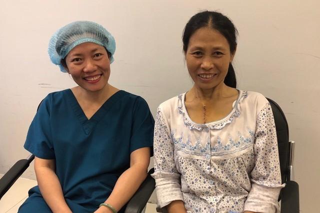 Tháng 4/2018, bà Trần Thị Ngọc Diệp (50 tuổi, TPHCM) không cảm thấy đau và phục hồi nhanh sau ca mổ tim tại Bệnh viện Vinmec Central Park