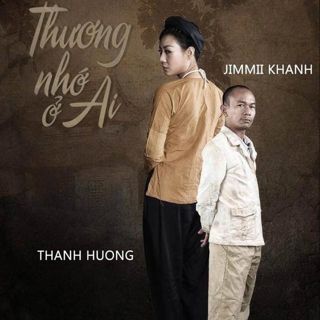 Jimmi Khánh và Thanh Hương có chiều cao chênh lệch khi đóng Thương nhớ ở ai.