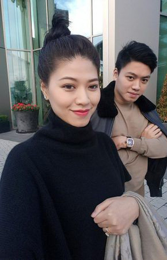 Em trai BTV Ngọc Trinh từng dính nhiều tin đồn hẹn hò với các người đẹp trong showbiz