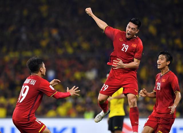 Các cầu thủ Việt Nam có lợi thế khi ghi 2 bàn trên sân khách.