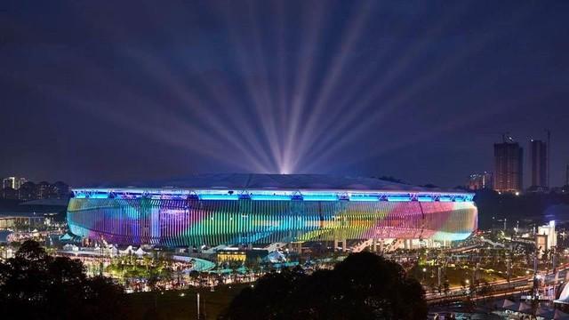 Đây cũng là nơi diễn ra trận chung kết lượt đi kịch tính giữa đội chủ nhà và đội tuyển quốc gia Việt Nam vào 19h45 tối nay.