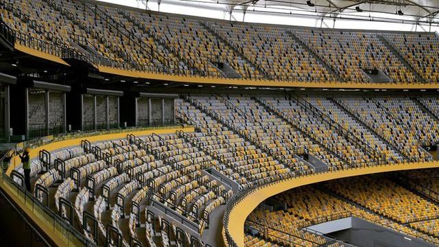 Bukit Jalil còn là nơi diễn ra các buổi hoà nhạc hoặc sự kiện lớn của Malaysia. Năm 2017, sân vận động trải qua một đợt đại trùng tu để tổ chức SEA Games 29. Ảnh: PendengarSetiaTHRGegar863.