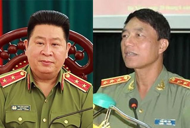 Hai ông Bùi Văn Thành (trái) và Trần Việt Tân (phải) - ảnh tư liệu