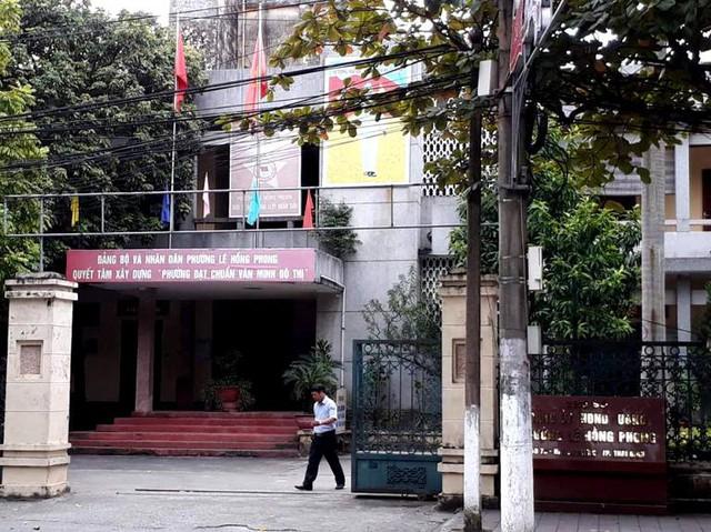 Trụ sở làm việc UBND phường Lê Hồng Phong, TP. Thái Bình. Ảnh: K.L