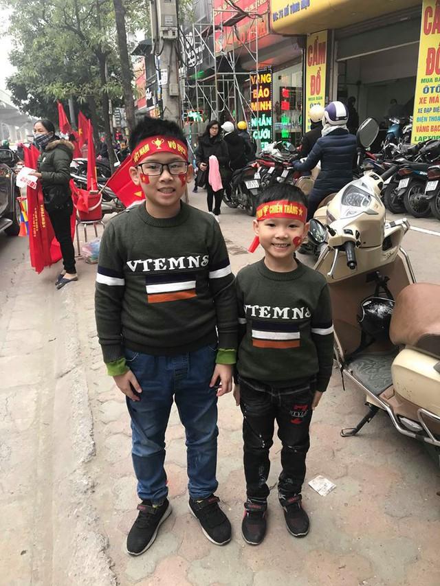 Cách đây 10 năm khi Đội tuyển Quốc gia Việt Nam vô địch AFF Cup, thì Phong và Đạt chưa chào đời. Ảnh: N.Đ