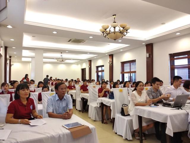 Các đại biểu tham dự tại hội nghị Sơ kết và tập huấn thực hiện Đề án 818 tại Bắc Giang vừa qua